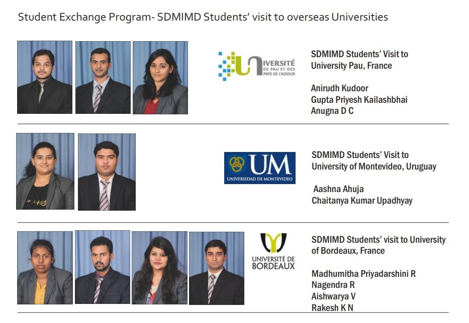 exchange program Additional information about the exchange institutions, exchange program eligibility and costs, and the exchange program application, can be found in the drawers below.