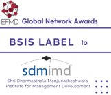 SDMIMD got BSIS Impact Label from EFMD